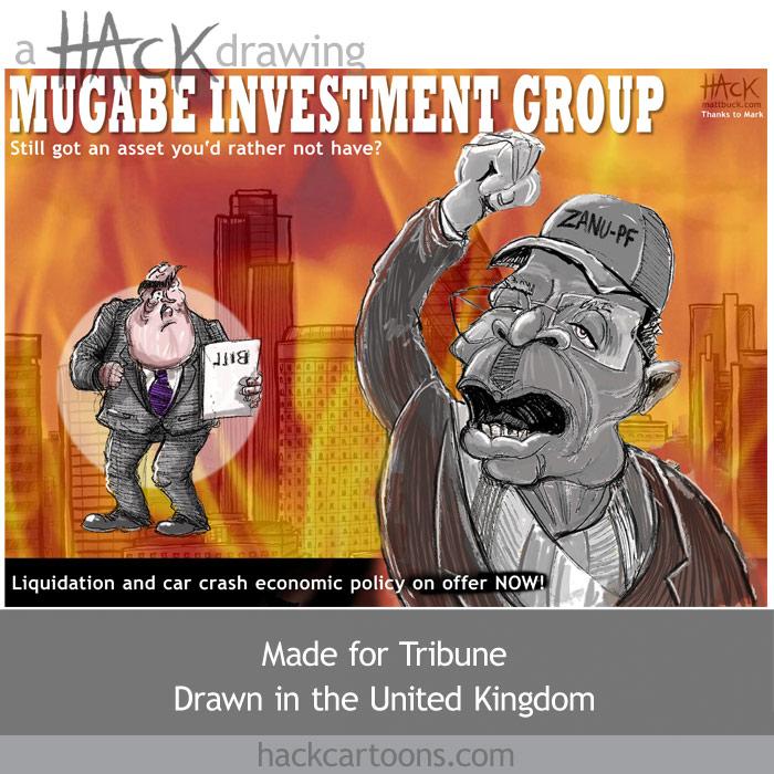 Global finance crash Lehman Bros, AIG, Merrill Lynch, Bob Mugabe, Zimbabwe, financial mismanagement