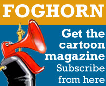 Get a free Foghorn Cartoon Magazine for Artbuyers
