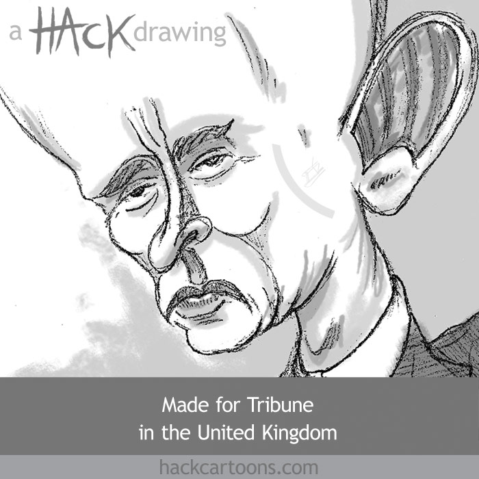 Vladimir Putin  cartoon prime minister and former president of Russia
